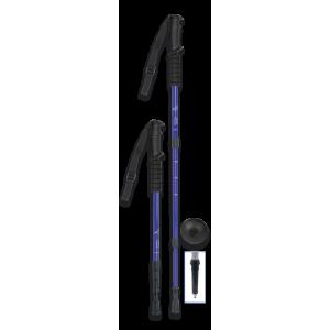Μπατόν Ορειβασίας Πτυσσόμενο Μπλε