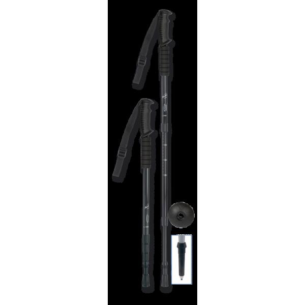 Μπατόν Ορειβασίας Πτυσσόμενο Μαύρο .Διάφορα