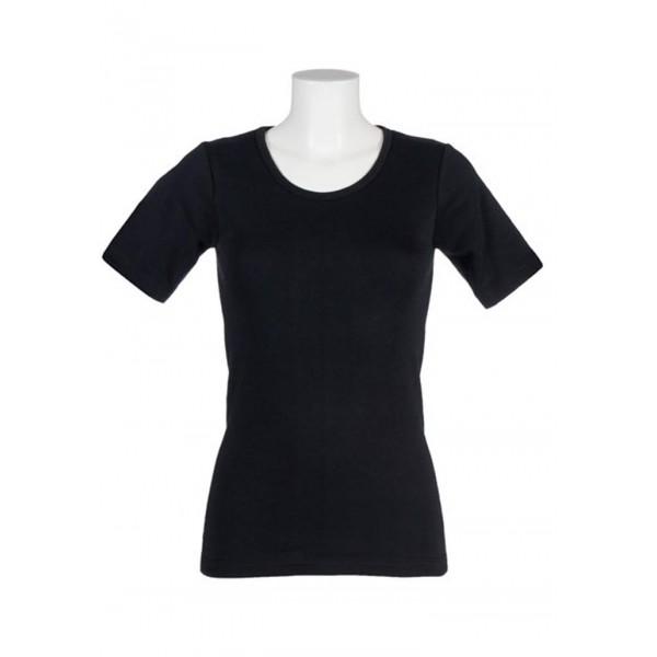 Γυναικείο Thermal Short Sleeve Vest Black  Ενδυματα