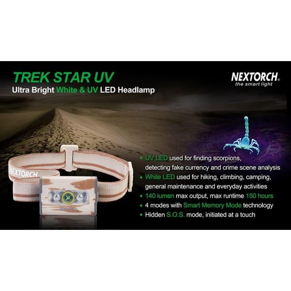 Ορειβατικα Ειδη - Κυνηγετικα Ειδη - NEXTORCH Trek Star-UV
